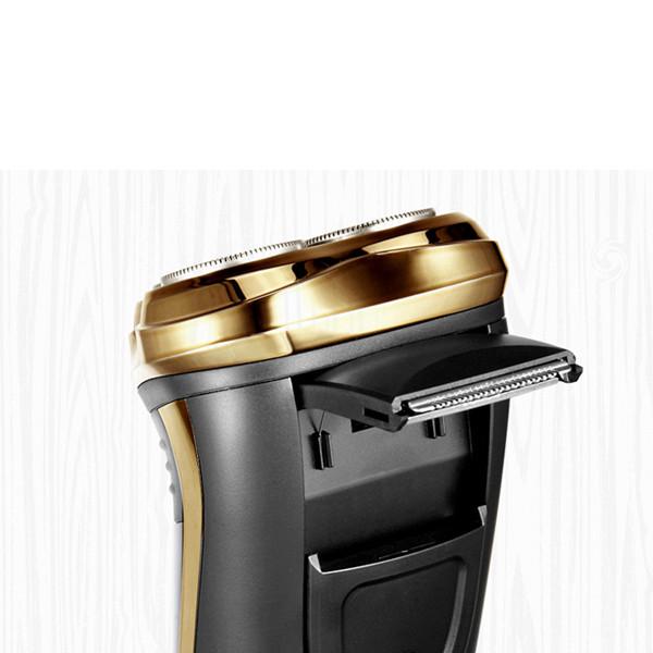 Máy Cạo Râu 3 Lưỡi FS360VN Flyco - Vàng Đen