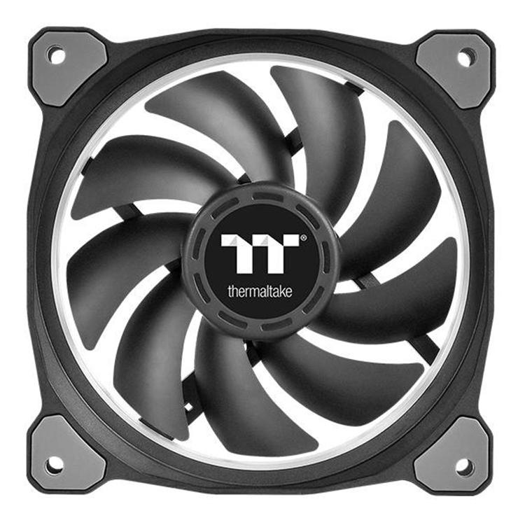 Bộ 3 Quạt Tản Nhiệt Thermaltake Riing Plus 14 RGB (3 Fan Pack) CL-F056-PL14SW-A - Hàng Chính Hãng