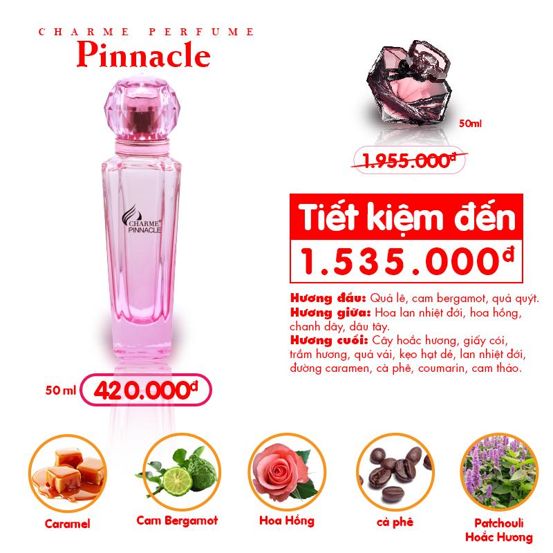 Nước Hoa Nữ Charme Pinnacle 50ml