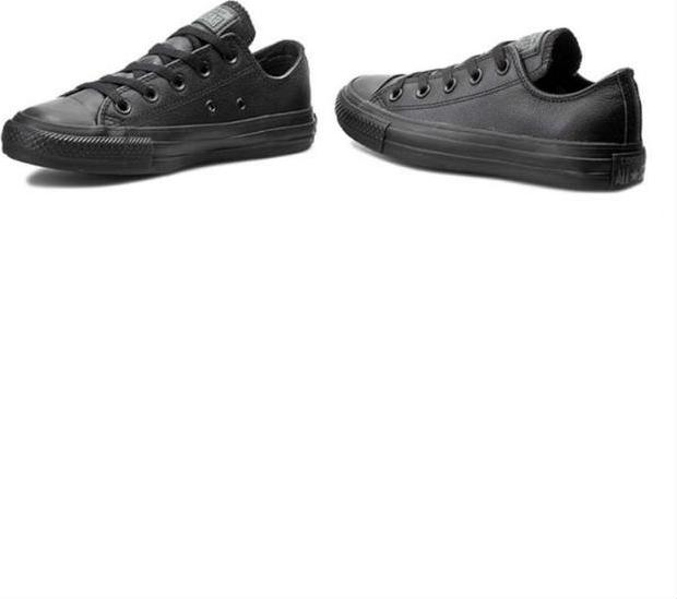 Giày Sneaker Unisex Converse Chuck Taylor Leather Low - Black
