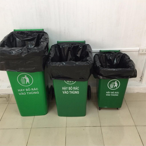 Bao đựng rác chung cư, Bệnh viện, Túi đựng rác khu du lịch Titapha 90x120cm - 5kg