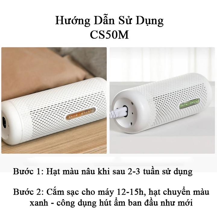 Máy hút ẩm mini Deerma CS50M hàng nhập khẩu