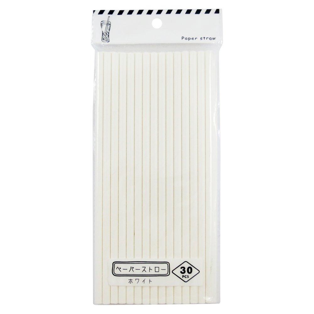Ống hút giấy 30 cái (Bảo vệ môi trường)