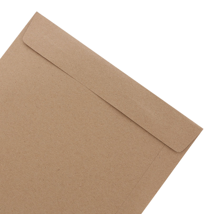 Xấp 10 Bao Hồ Sơ 555 - 5205 - Màu Xám - Có Keo (25.4 x 35.6cm)