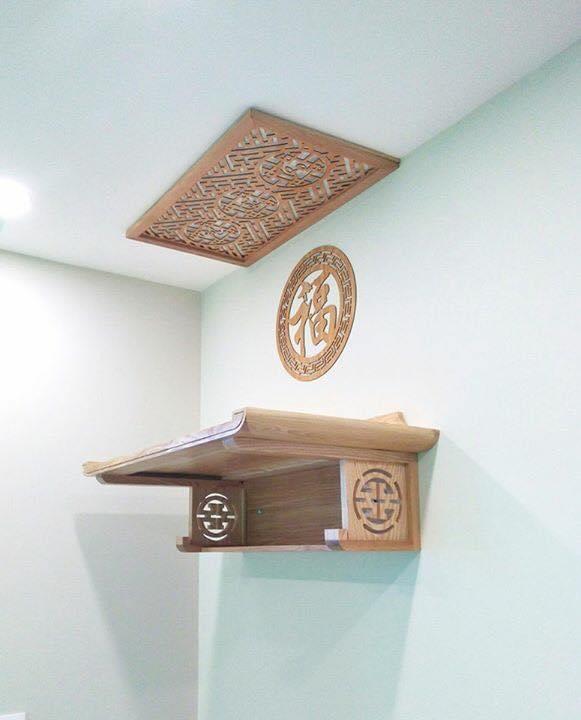 Tấm trang trí mẫu hoa sen  (dành ốp lưng bàn thờ treo tường - TL138
