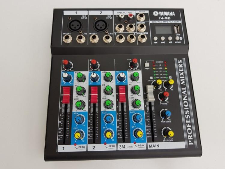 mixer yamaha F4 có bluetooth $$$ 1