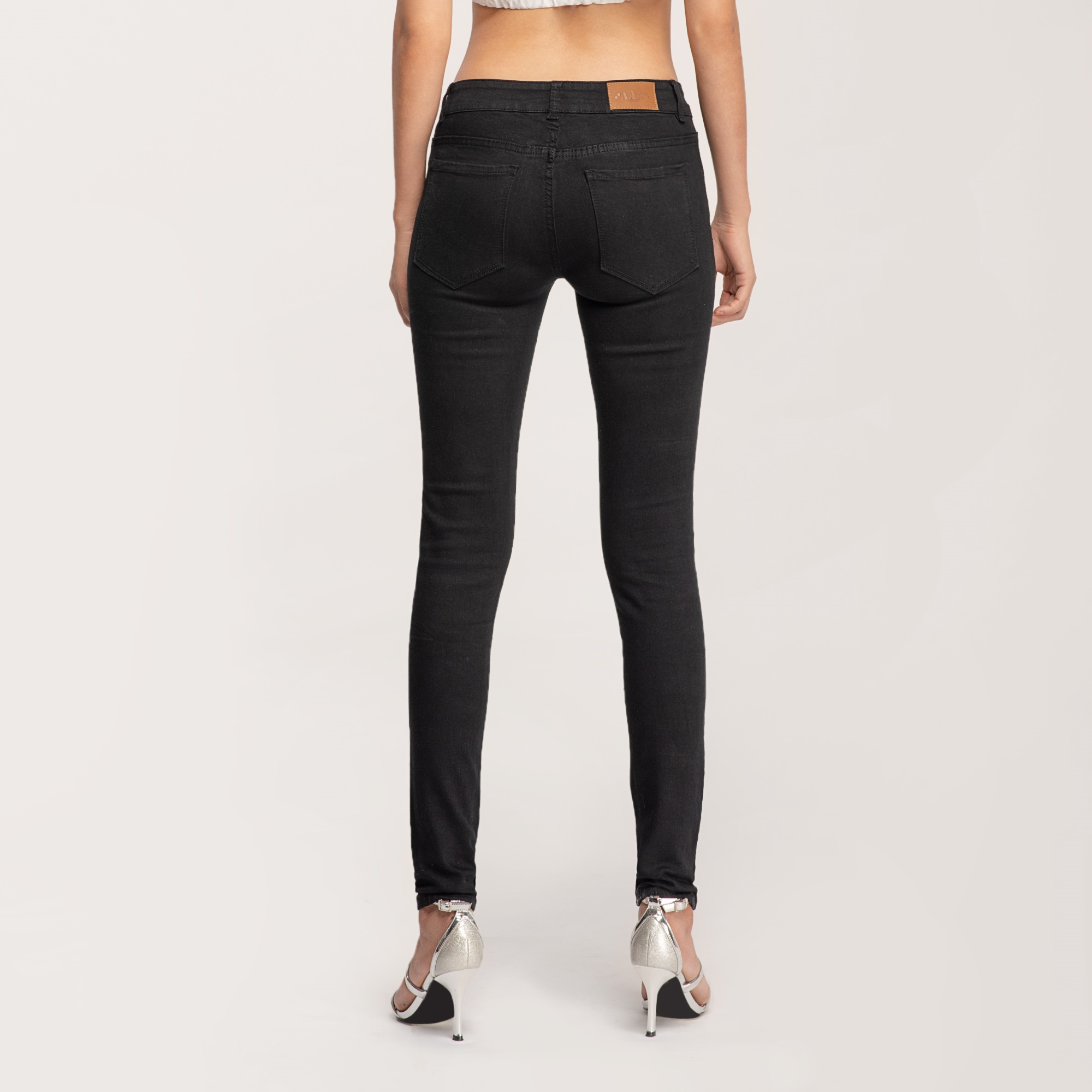 Quần Jean Nữ Skinny Lưng Vừa Aaa Jeans Có Nhiều Màu Size 26 - 32