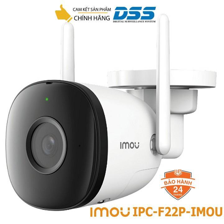 Camera IP WIFI ngoài trời Imou-F22P 2MP 1080P hàng chính hãng DSS Việt Nam