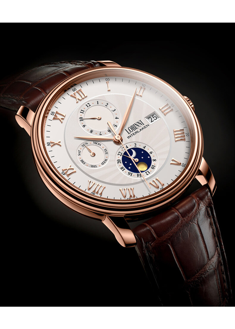 Đồng hồ Nam chính hãng LOBINNI mã No.1023-2