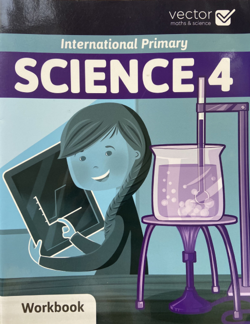 Vector: Sách hệ Cambrige - Học khoa học bằng tiếng Anh - Science 4 Workbook