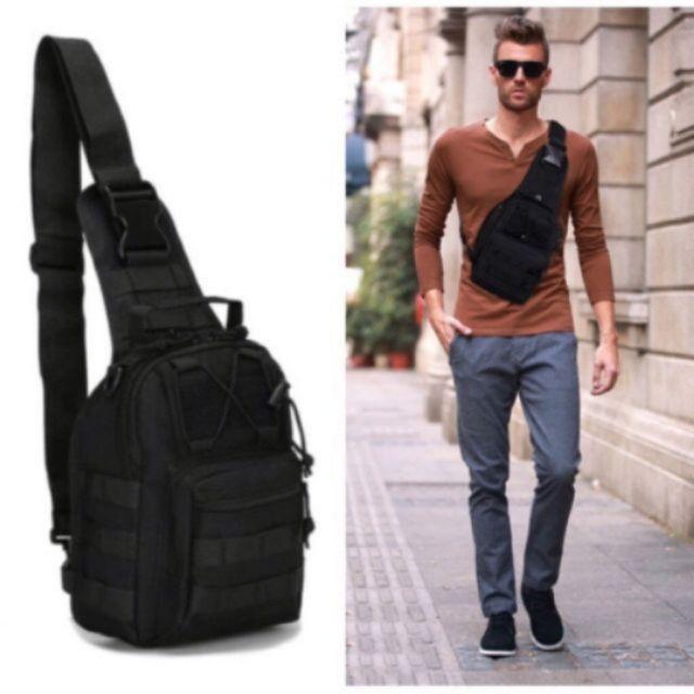 Túi đeo chéo nam Army chéo kiểu quân đội đi chơi và đi phượt