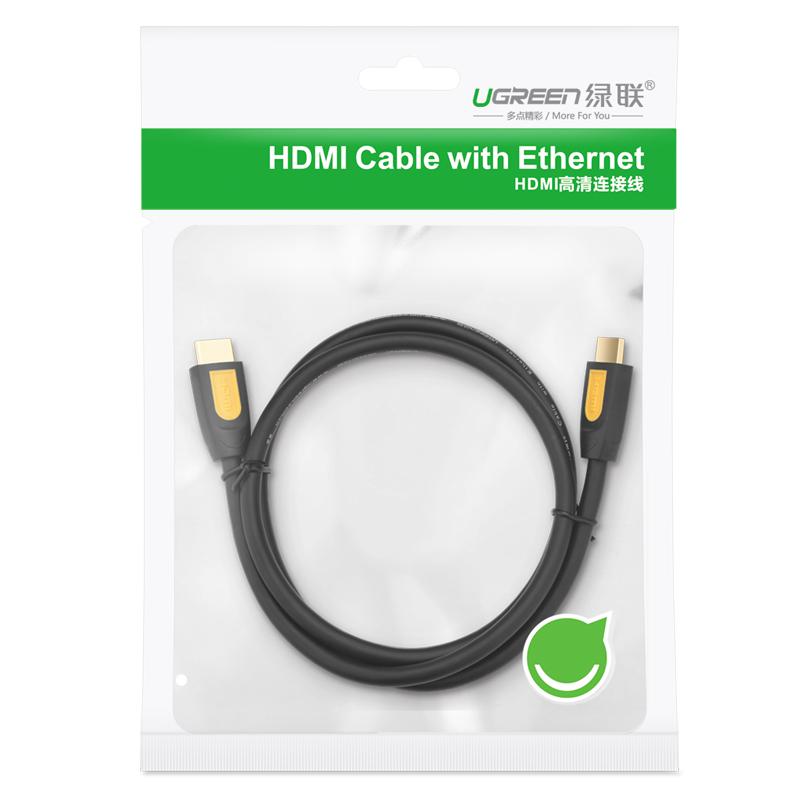 Dây HDMI 1.4 thuần đồng 19+1 dài 15M UGREEN HD101 11106 - Hàng chính hãng