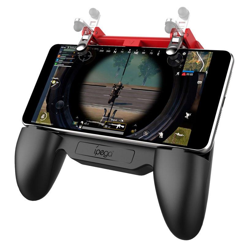 Tay cầm chơi game PUBG có quạt tản nhiệt, pin 2000mAh - iPega PG-9123 - Hàng nhập khẩu