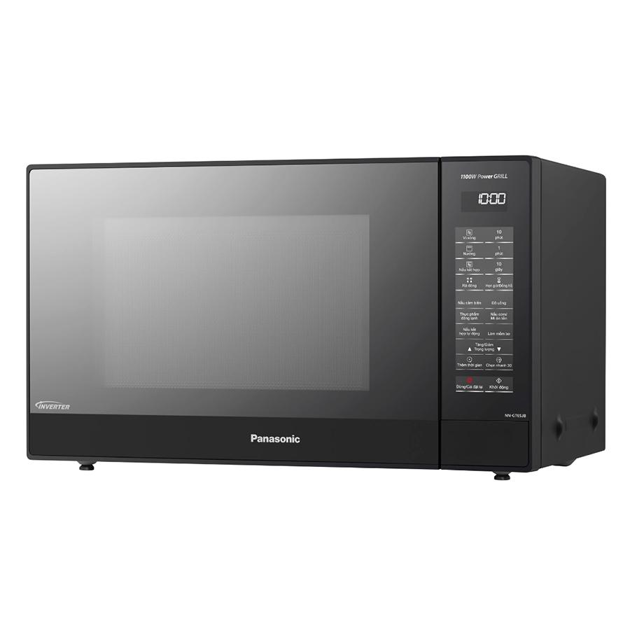 Lò Vi Sóng Inverter Có Nướng Panasonic NN-GT65JBYUE (31 Lít) - Hàng Chính Hãng