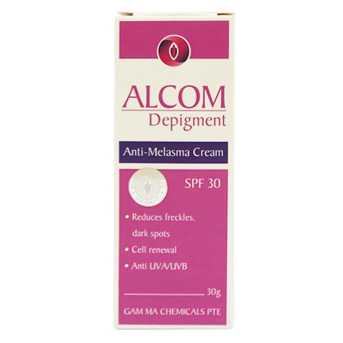 Kem Hỗ Trợ Trị Nám Da Gamma Chemecals Alcom Depigment 30g