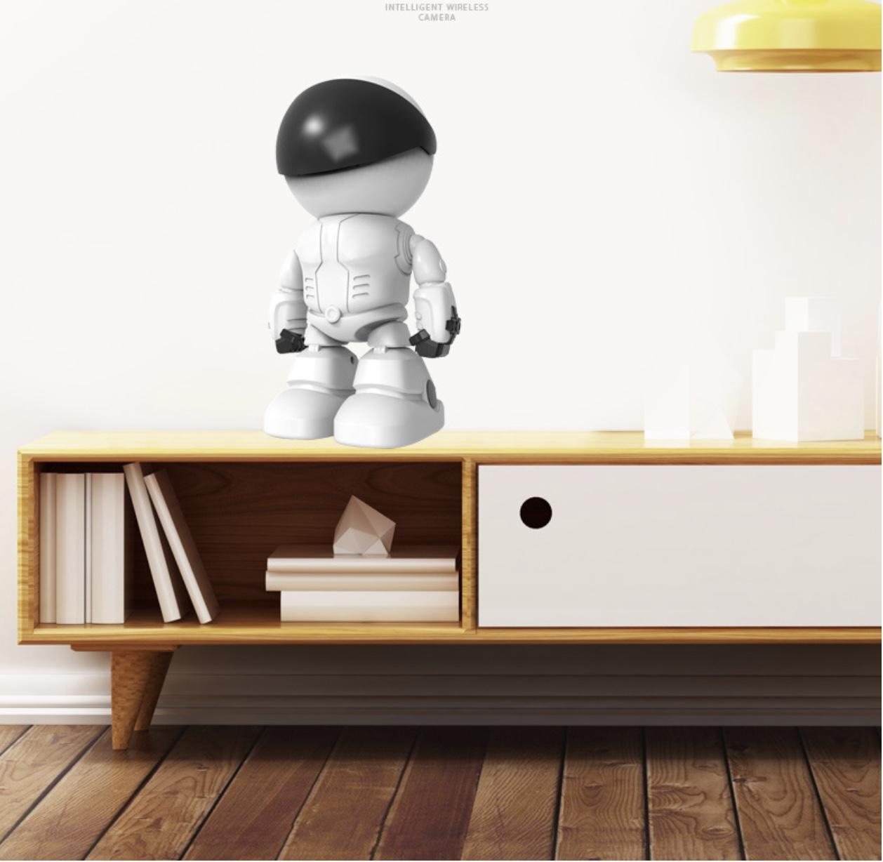 Camera đàm thoại 2 chiều mô hình Người Máy wifi Smartphone 1080p