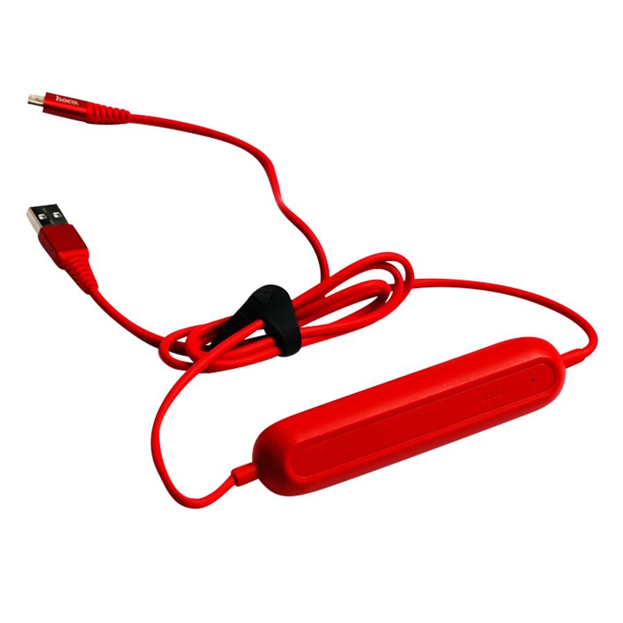 Cáp Sạc Kiêm Pin Sạc Dự Phòng Cổng Micro USB Hoco 2000mAh U22 (120cm) - Hàng chính hãng