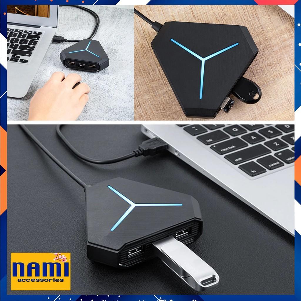 Bộ Chia USB 6 Cổng, USB Hub 6 Cổng Tiện Dụng Có Đèn LED Báo Hiệu