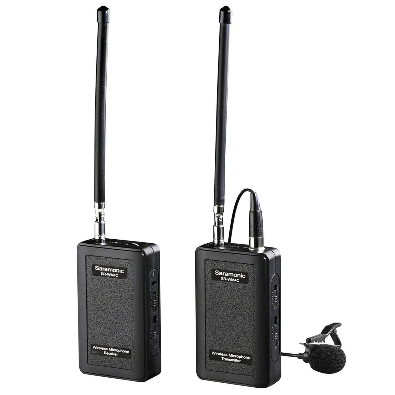 Saramonic SR-WM4C - Micro không dây VHF cho máy ảnh - Hàng Chính Hãng