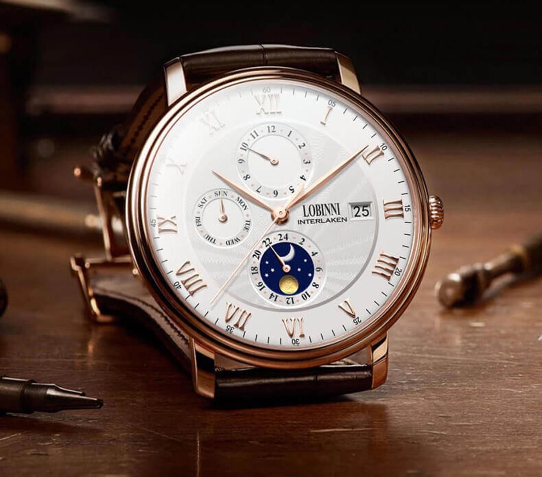 Đồng hồ nam chính hãng LOBINNI L1023-1