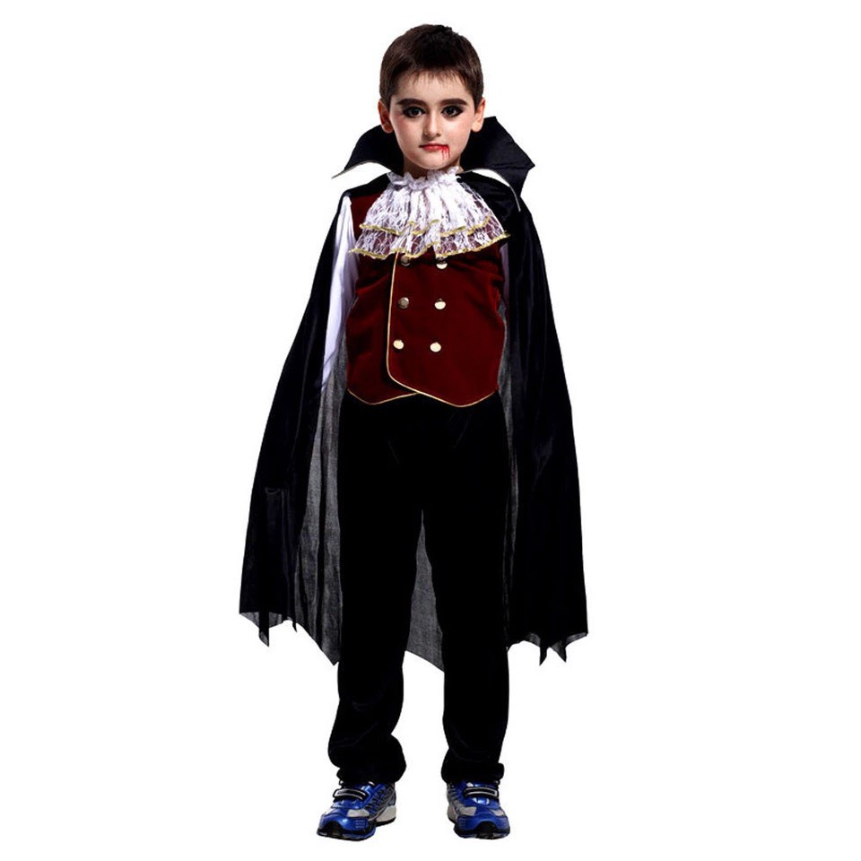 Đồ Hóa Trang Halloween Cho Bé Trai - Bá Tước Ma Cà Rồng HMB0038 | Noble  Vampire