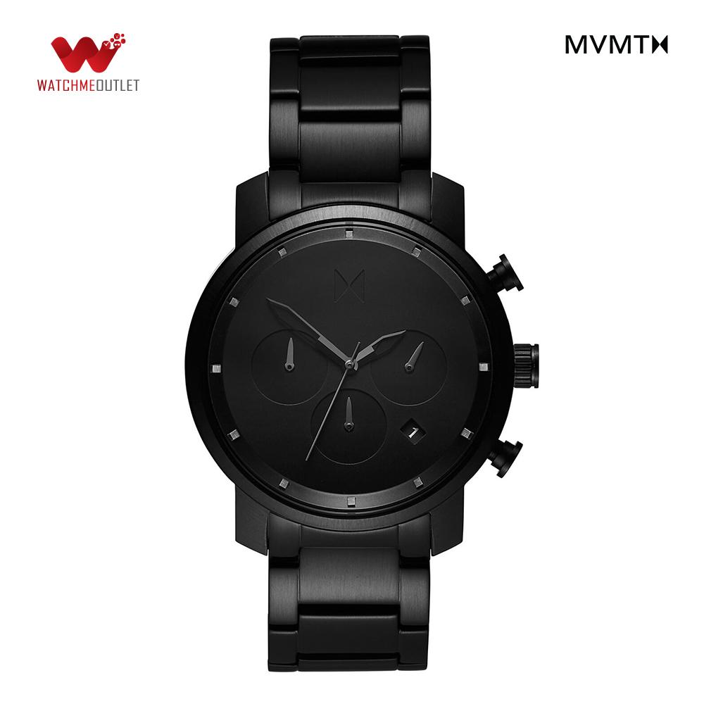 Đồng hồ Nam MVMT dây thép không gỉ 40mm - D-MC02-BB