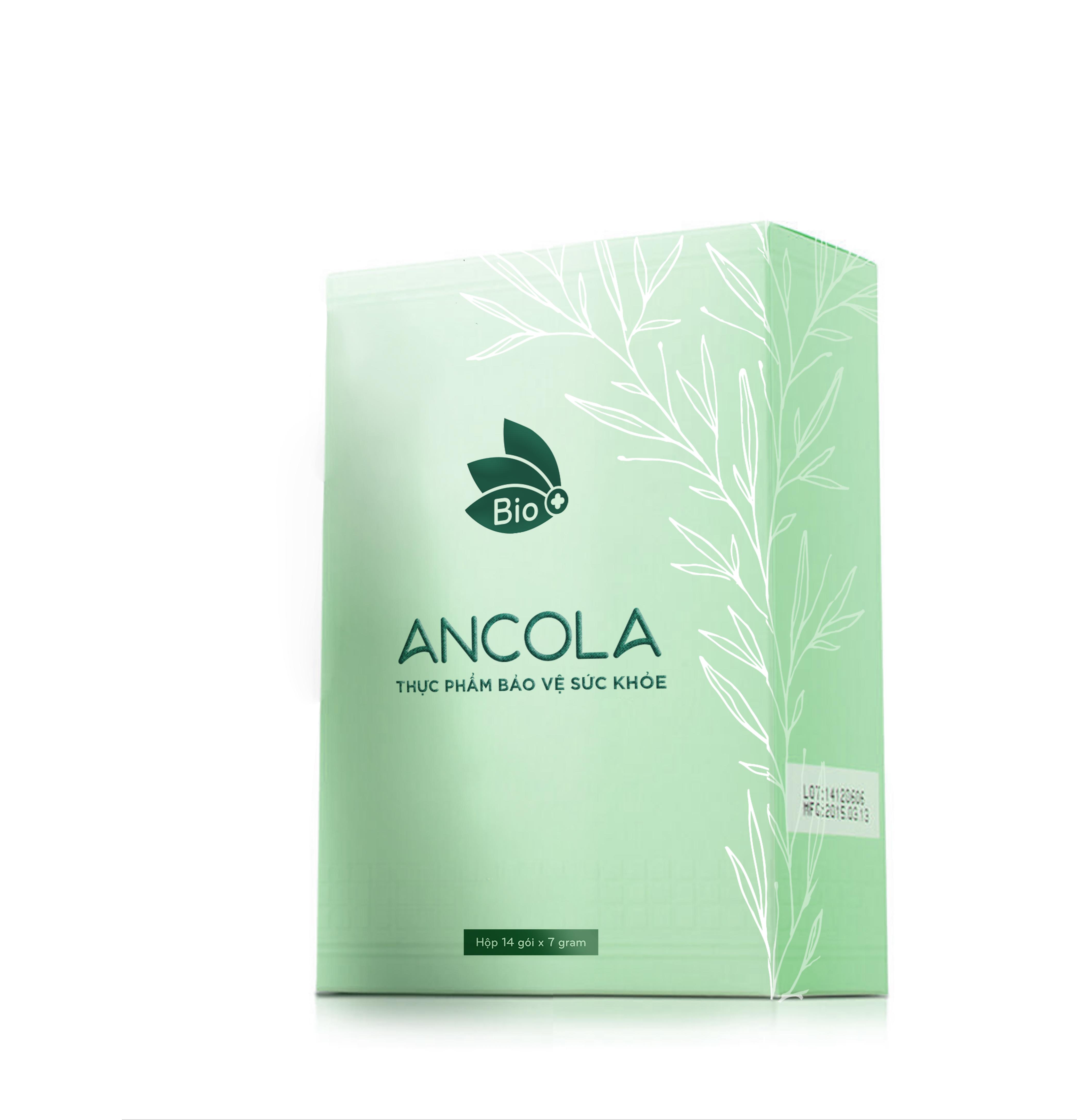 Thực phẩm chức năng bổ sung collagen dạng bột – ANCOLA (hộp 14 gói x 7g)