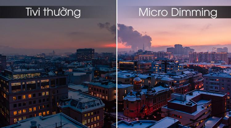 Công nghệ Micro Dimming - Smart Tivi TCL 4K 50 inch L50P65-UF