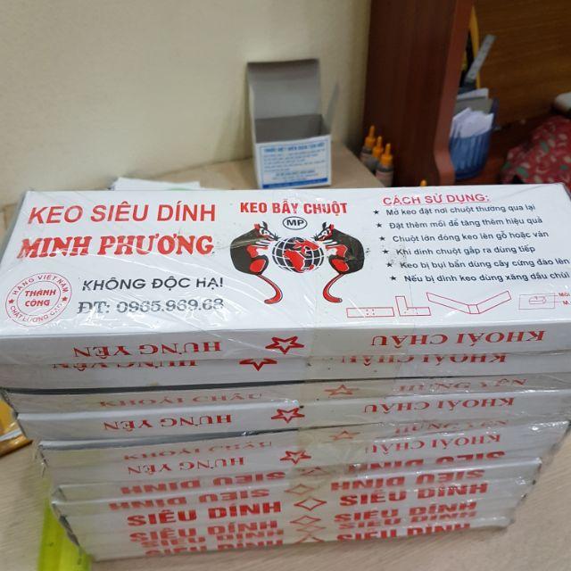 Combo 3 hộp keo siêu dính chuột (Bẫy chuột)