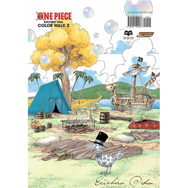 One Piece Color Walk Art Book, Vol. 2 - Tiếng Anh