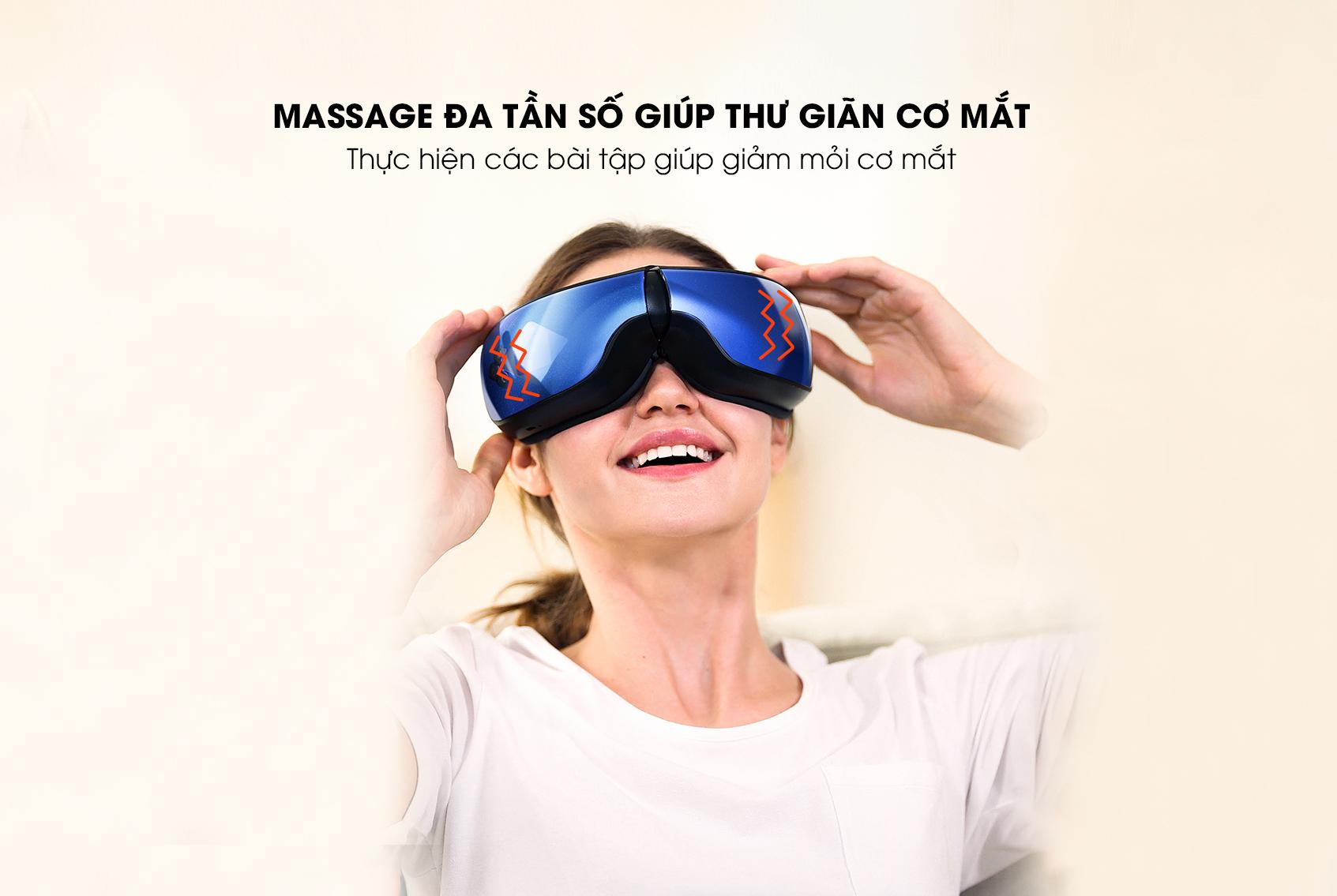 Máy massage mắt thông minh Remax RL-PC06 - Hàng chính hãng