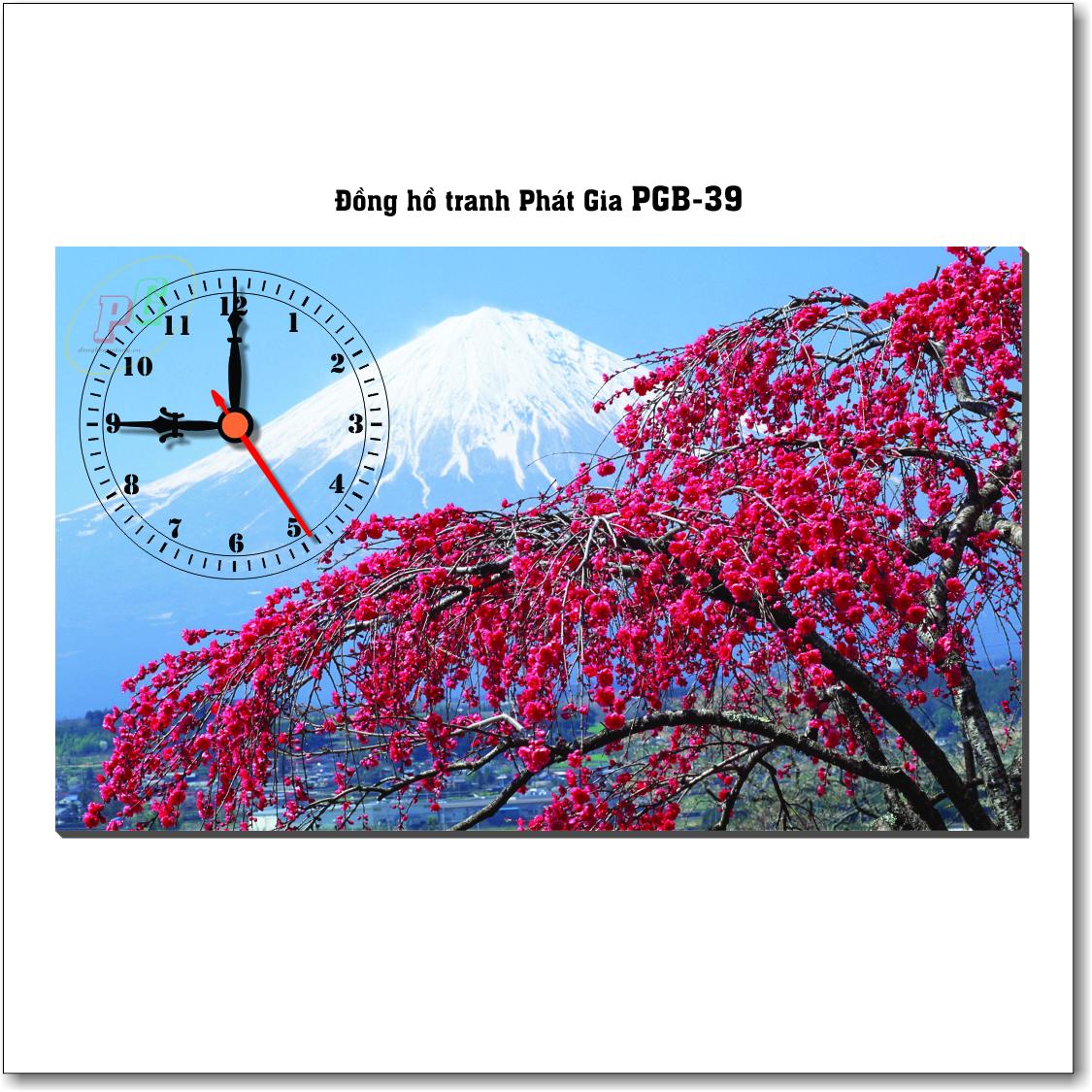 Đồng hồ tranh để bàn PGB-39