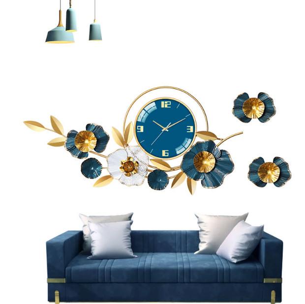 Đồng hồ treo tường trang trí C901 Đồng hồ chim công C901 Đồng hồ chim công