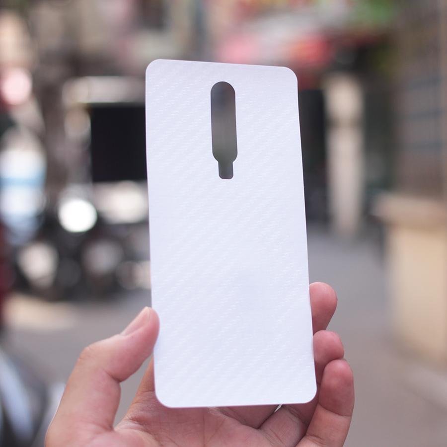 Miếng Dán Mặt Lưng Cacbon Dành Cho Xiaomi Redmi K20/ K20 PRO - Hàng Chính Hãng