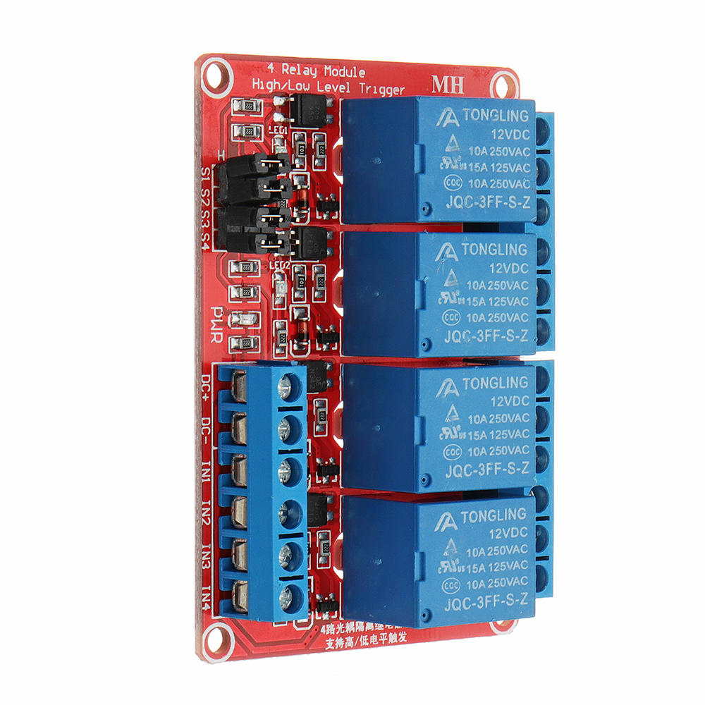 Module 4 relay 5V với opto cách ly kích H/L
