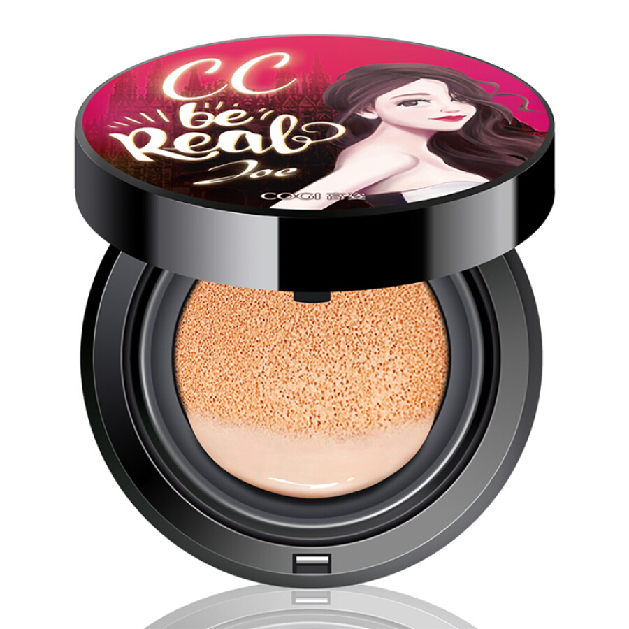 High-profile COGI star light uniform air cushion CC frost 15g 15 g replacement replenishment moisturizing concealer light through the protection of Chen Qiao En custom skin care