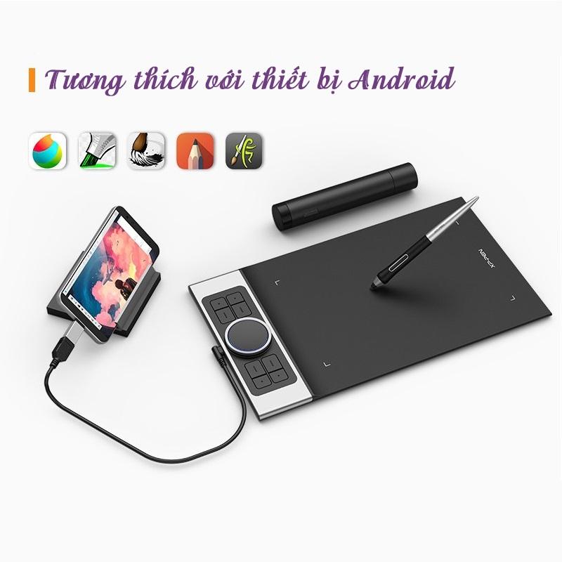 Bảng Vẽ Điện Tử XP-Pen Deco Pro Medium 11x6inch 8192 Lực Nhấn, 2 Dial, Tương Thích Thiết Bị Di Động Android - Hàng Chính Hãng