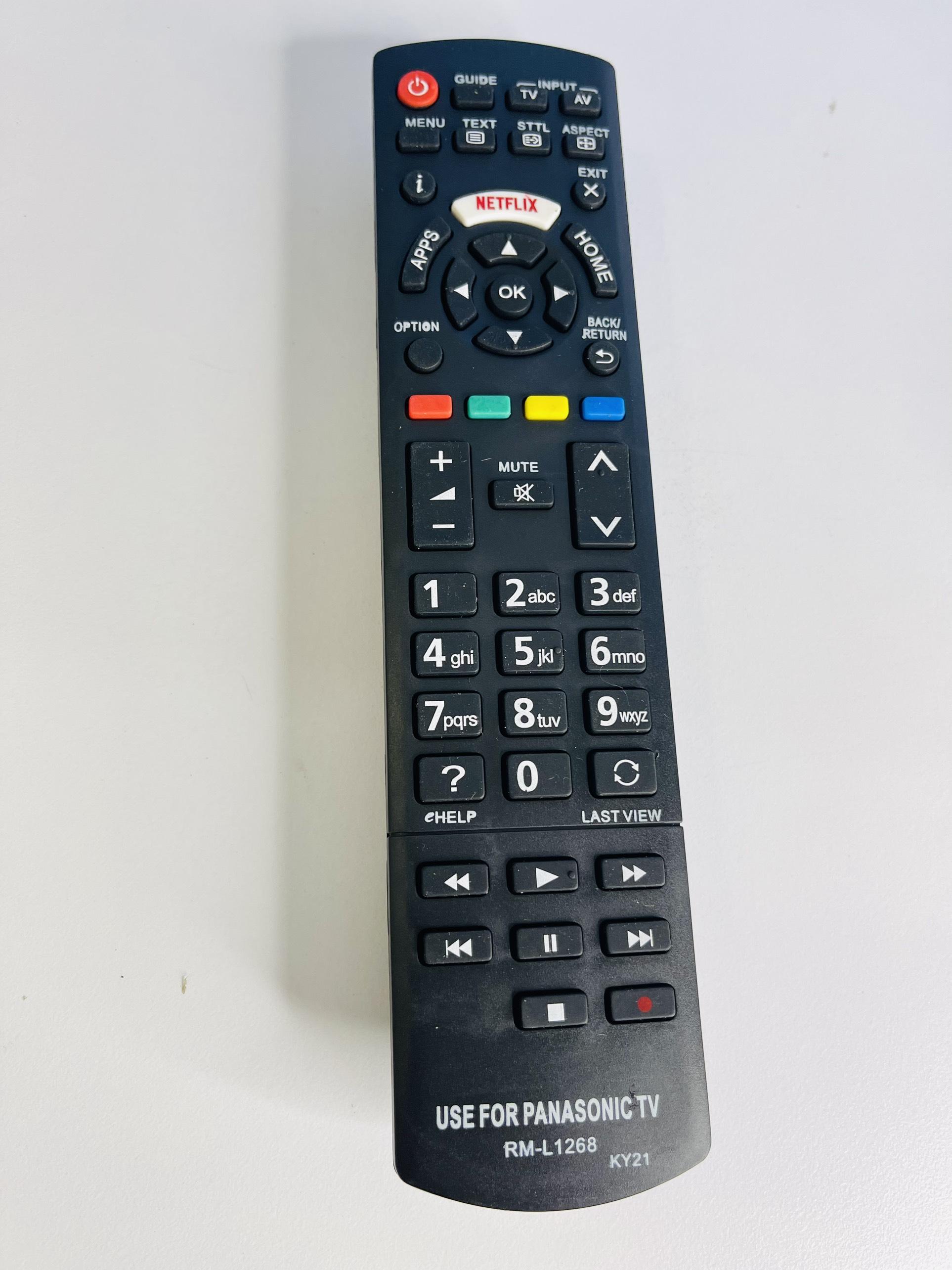 điều khiển tivi panasonic L1268 (SP 1166)