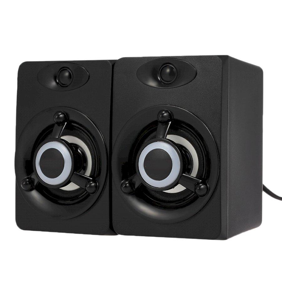 Bộ 2 Loa nghe nhạc V-118 có đèn LED