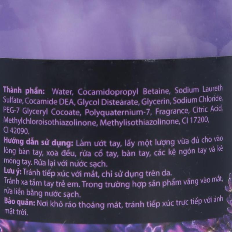 Sữa Rửa Tay Hương Lavender Choice L (CL) (500m)