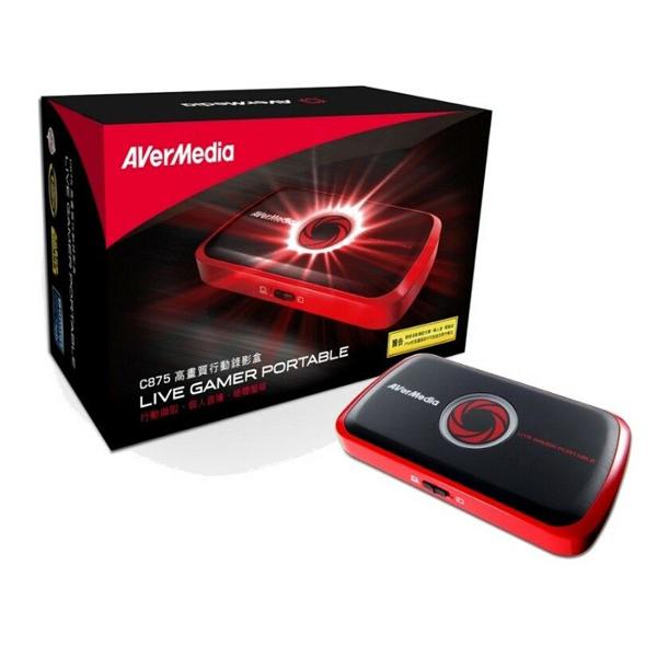 Bộ ghi hình HDMI Avermedia C875 cao cấp hỗ trợ FullHD 1080p chính hãng