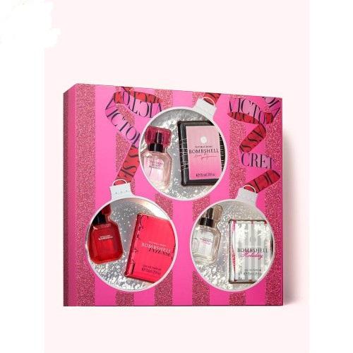 Giftset nước hoa Victoria's Secret Bombshell 3 chai x 7.5ml