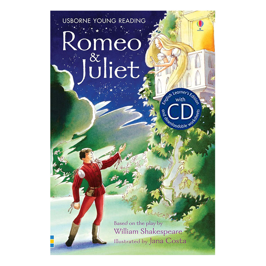 Usborne English Learners Editions : Romeo and Juliet + CD