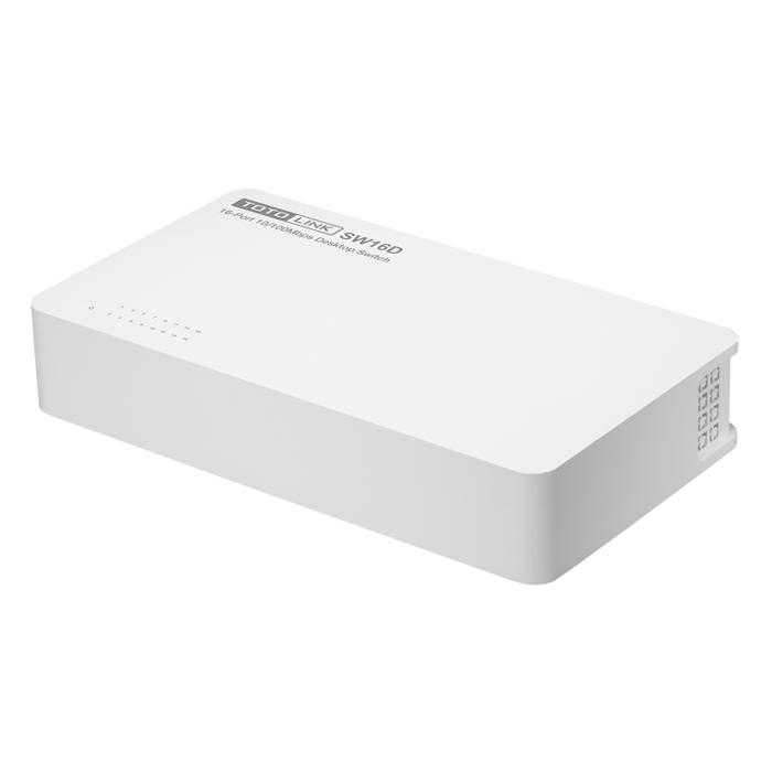 TotoLink SW16D - Switch 16 Cổng Tốc Độ 10/100Mbps - Hàng Chính Hãng