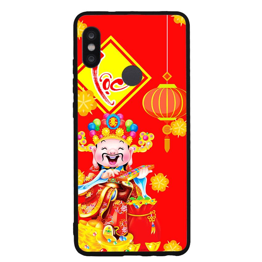 Ốp Lưng Viền TPU cho điện thoại Xiaomi Redmi Note 5 Pro - Thần Tài 04