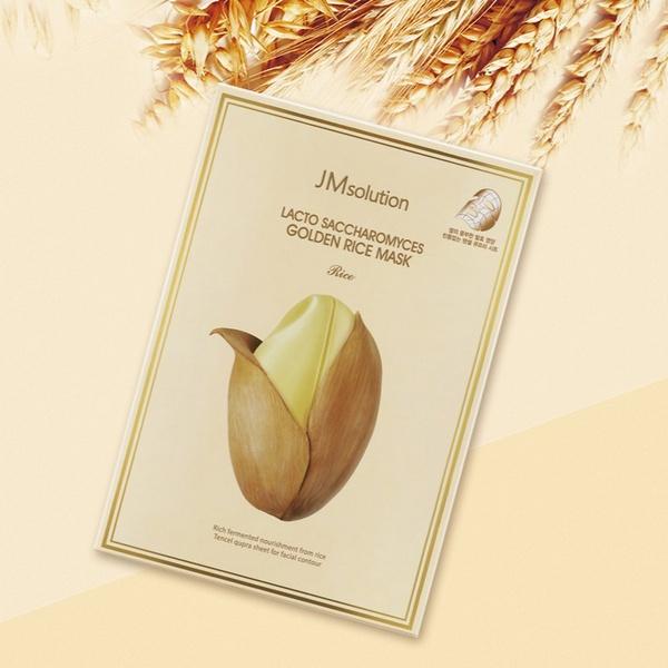 Mặt Nạ Giấy Tinh Chất Gạo JM Solution Lacto Saccharomyces Golden Rice Mask