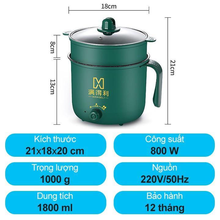 SIÊU RẺ] Nồi lẩu mini đa năng 2 tầng ca nấu mì điện hấp hàn quốc, Giá siêu  rẻ 145,000đ! Mua liền tay! - SaleZone Store