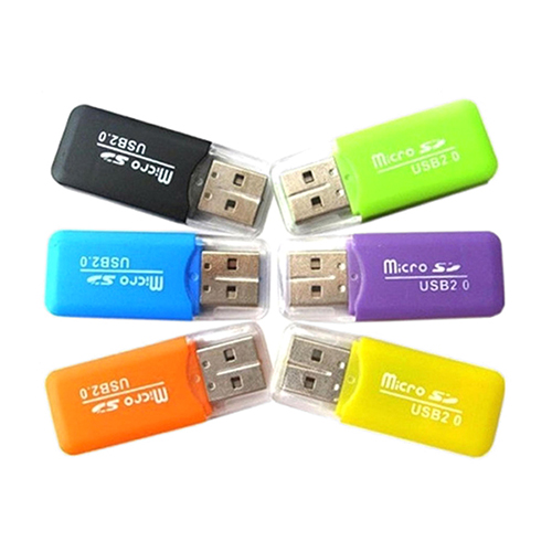 Bộ 5 đầu đoc thẻ nhớ mini MicroSD (Giao màu ngẫu nhiên)