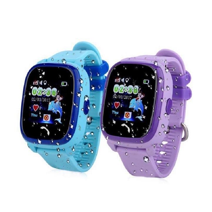 Đồng hồ thông minh trẻ em DF25 tím (BB)