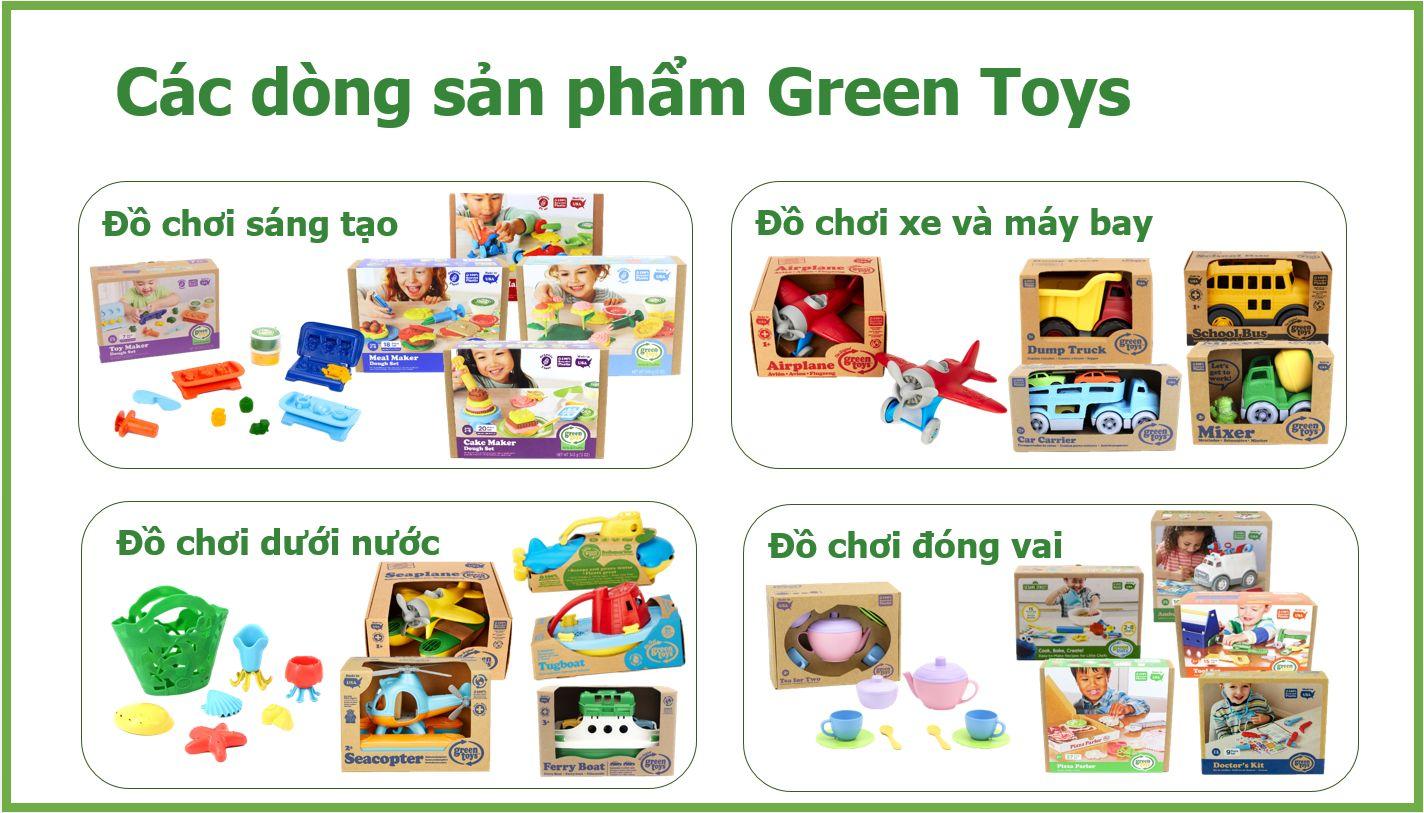 Đồ chơi xếp chồng Green Toys cho bé từ 6 tháng